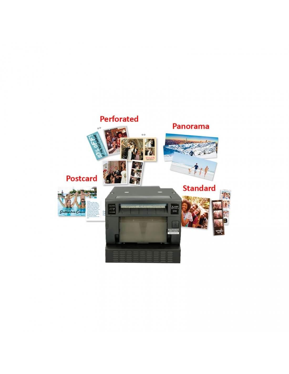 MITSUBISHI CP D90 DW-P Photo Printer / Thermal Printer