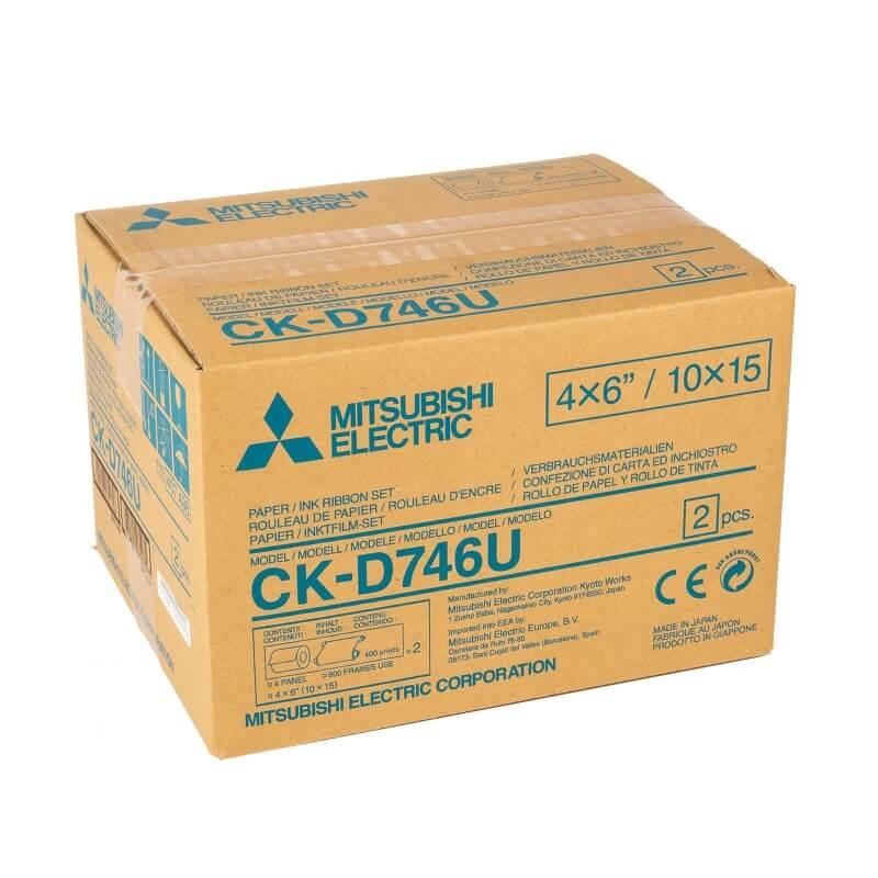 CK-D746-U Jeu de consommables pour les photos d'identité
