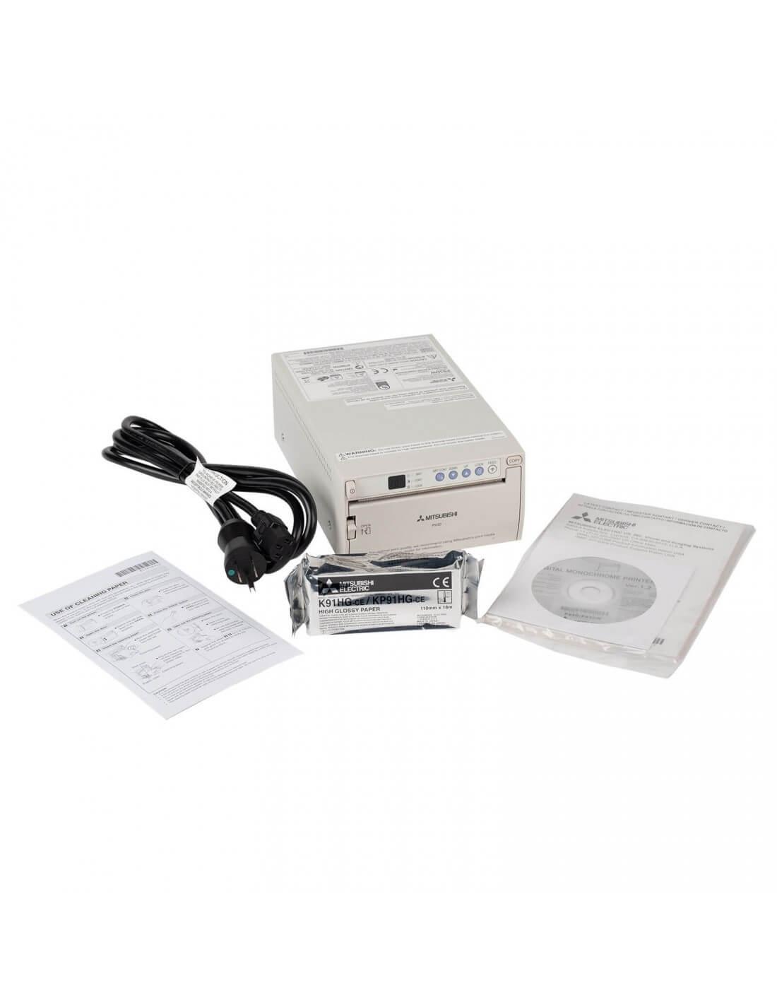 MITSUBISHI P 93 DW A6 digital Medical Printer / Thermoprinter