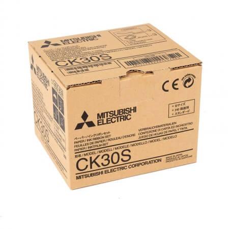 CK30S Papier inkl. Farbträger für Medzindrucker