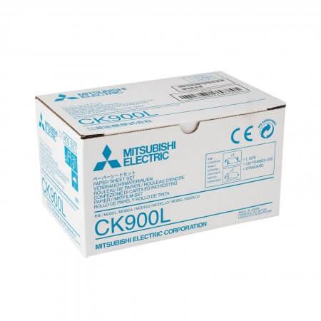 CK900L Papier inkl. Farbträger für Medzindrucker